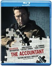 The Accountant [New Blu-ray] With DVD, UV/HD Digital Copy