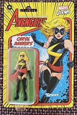 """Kenner Marvel Legends - Carol Danvers - The Avengers 3.75"""" Retro New In Package"""