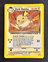 Pokemon Dark Raichu Legendary Collection Holo #7/110 NM (T)