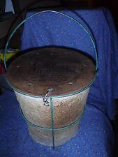 Vintage Mit-Shel Air-o-matic Minnow Bucket  Feeds em Air Keeps em Alive Weeks