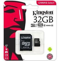 32GB Kingston Class 10 Micro SD SDHC Memory Card For Go Pro Hero 5 Camera