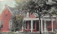 Indiana In Postcard c1910 SUNMAN Bigney & Company Residence Home