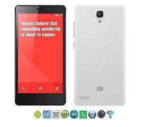 "Hongmi Unlocked Xiaomi Redmi Note Android GPS WIFI 5.5"" 8MP Single Dual Sim 13MP"