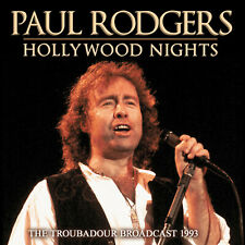 PAUL RODGERS of BAD COMPANY New Sealed 2019 LIVE 1993 HOLLYWOOD CONCERT CD