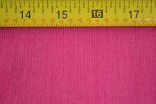 """By 1/2 Yd, 42"""" Wide, Solid Fuchsia Mini-Wale Corduroy, A472"""
