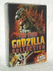 The ToHo Godzilla Collection Volumes 1 & 2 (DVD, 2016, 13-Movie Collection) NEW