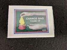MINI CHANGE BAG TT  - THUMB Magic Trick Magician TIP