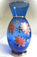 * feine glas vase reiseandenken  venedig handbemalt gold ca1960 aus sammlung 32
