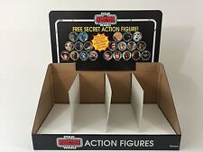 reproduction star wars esb prototype free secret figure display header and bin