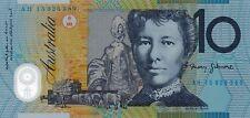 AUSTRALIA $10 Dollars 2015 Stevens/Fraser Old Generation Gen Prefix UNC Banknote