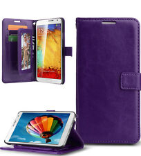 Leather Wallet Credit Card Slot Stand Case Cover for Samsung Galaxy Note 3