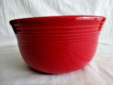 Contemporary Fiesta Ware Tangerine (2004- Present) 1st Quality Gusto Bowl EUC