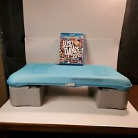 Nintendo Wii Balance Board Bundle Wii U just dance 2015 tested working