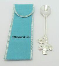 Tiffany & Co. Sterling Silver Bear Spoon 1992 w/ Original Box & Pouch