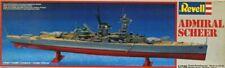 Revell 1:720 Admiral Scheer Plastic Model Kit #5014U