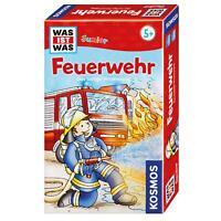 KOSMOS Kinderspiele Was Ist Was Junior Feuerwehr Wissensspiel Spiel ab 5 712556