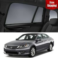 HONDA Accord 9th Gen 2015 Magnetic Rear Car Window Sun Blind Sun Shade Mesh