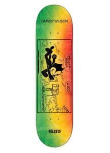 "Darkstar Skateboards Cameo Wilson Felix Future R7 Skateboard Deck - 8.25"""