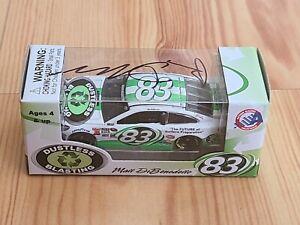 2016 #83 Matt Dibenedetto Dustless Blasting Autographed 1/64 Action NASCAR MIP
