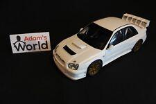 AutoArt Subaru Impreza WRC 2003 1:18 plain body version (white) (JvdM)