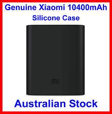 Genuine Soft Silicone Case Black for Xiaomi 10400mAh Power Bank