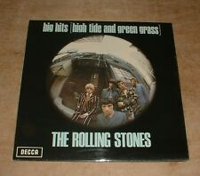 THE ROLLING STONES big hits [high tide and green grass] 1970s UK LP + INSERT