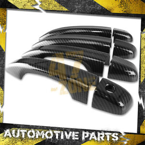 For 2018-2020 Honda Accord Sedan Carbon Fiber Painted Door Handle Cover Overlays
