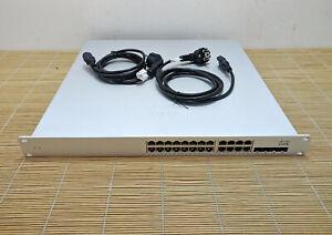Cisco Meraki MS350-24X-HW L3 Cloud Managed 24 Port PoE Switch Dual AC PSU PWR