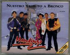 MANDINGO * Double CASSETTE * Nuestro Tributo a Bronco * New Sealed Double TAPE