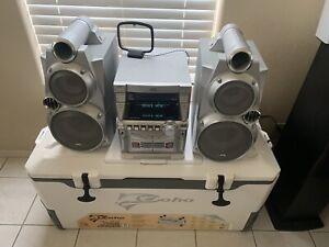 JVC MX-GB6, 500 Watts Mini System Stereo 3-disc & Cassette