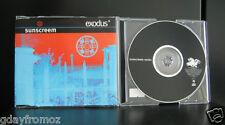 Sunscreem - Exodus 4 Track CD Single