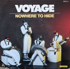 """Vinyle 45T Voyage """"Nowhere to hide"""""""