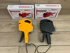 Mx-5500 Eos 8 Digits Price Tag Gun With Labels. Yellow & Black. C Details!