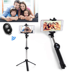 Extendable Selfie Stick Wireless Selfie Stand Tripod Holder Mount For Cell Phone