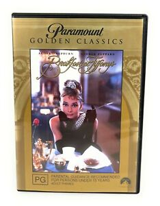 Breakfast at Tiffany's (DVD, 1961) Audrey Hepburn Region 4 Free Postage