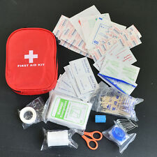 120PCs/Pack Outdoor First Aid Kit Medical Emergency Kit Treatment Pack Camping
