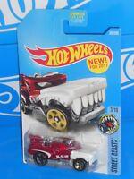 Hot Wheels New For 2017 Street Beasts Series #303 Hotweiler Red
