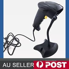 New USB Automatic Laser Barcode Bar Code Scanner Reader With Fixed mount stand