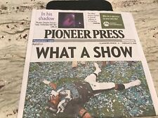 NFL- PHILADELPHIA EAGLES  SUPER BOWL 52 WORLD CHAMPS-TWIN CITIES PIONEER PRESS