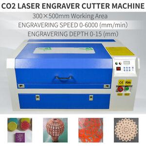 "50W CO2 Laser Engraving Cutting Machine Engraver Cutter USB Port 20"" X 12"" 220V"