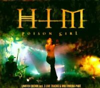 HIM Poison girl-Ltd. Edition (& 3 live/multimedia, 2000, digi) [Maxi-CD]
