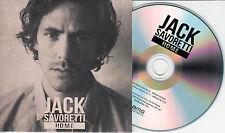 JACK SAVORETTI Home UK 2-trk promo test CD radio edit / album version