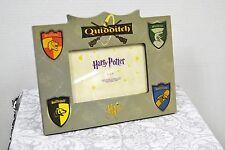 "Harry Potter Quidditch 6""x4"" Picture Frame Gryffindor Slytherin Ravenclaw (2000)"