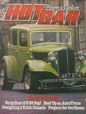 Hot Car magazine July 1980
