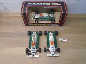 1980s Scalextric C138 Saudia Leyland Williams job lot of incomplete cars