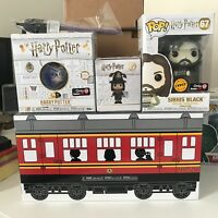 Funko POP Harry Potter GameStop Exclusive Train Mystery inc Sirius Black CHASE