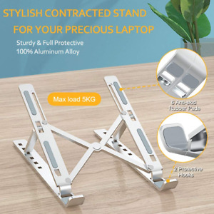"""Laptop Stand Holder 10""""-15.6"""" for MacBook Pro Notebook Foldable Aluminium Alloy"""