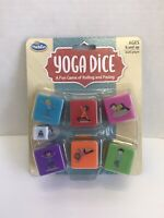 ThinkFun Yoga Dice Game for Boys and Girls Ages 6 and Up Learn Yoga With a Game