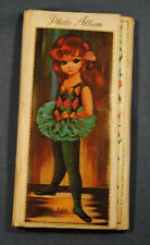 Vintage Eden Photo Album Lobeco Big Wide Blue Eye Girl Mid Century Modern Moppet