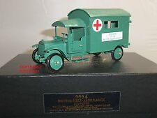 Charles biggs 9914 guerre mondiale un premier ministre britannique field ambulance camion militaire